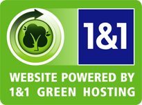 1and1 hosting green logo